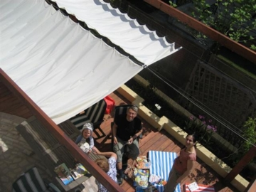 Populair Peddy Shield › zonwering - veranda - terrasoverkapping - zonnezeil #KA75